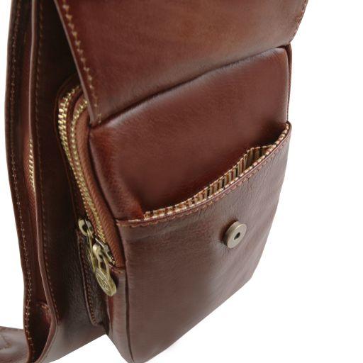Brusttasche aus Leder