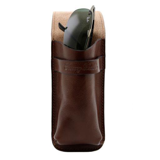 Exklusives Brillenetui aus Leder/Smartphone Etui aus Leder