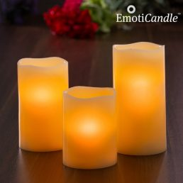 EmotiCandle Blow Sensor LED Candles (pack of 3)