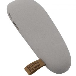 Pebble, 2600 mAh, light gray